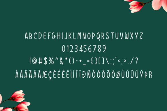 Print on Demand: Godroons Script & Handwritten Font By Spanking Fonts - Image 5