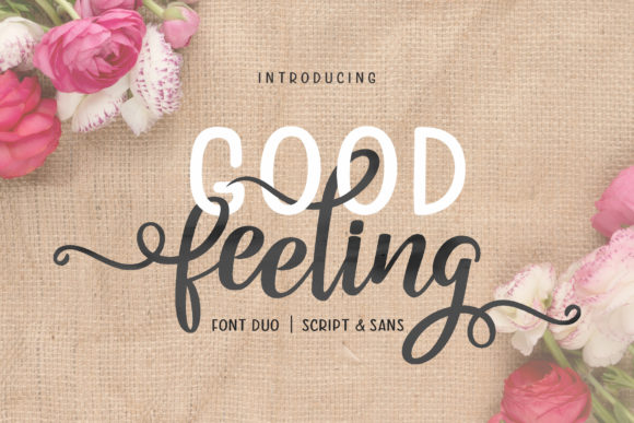 Print on Demand: Good Feeling Duo Manuscrita Fuente Por Subectype