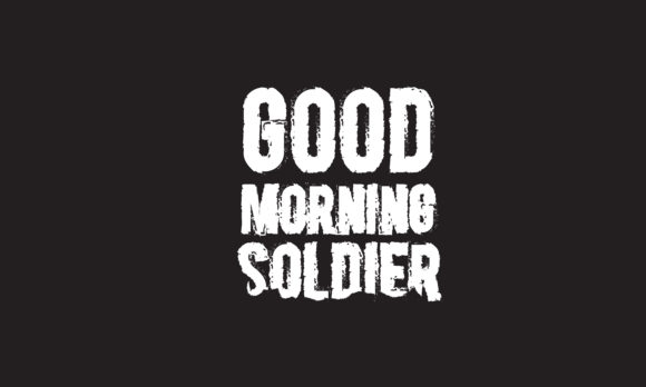 Download Free Good Morning Soldier Graphic By Baraeiji Creative Fabrica for Cricut Explore, Silhouette and other cutting machines.