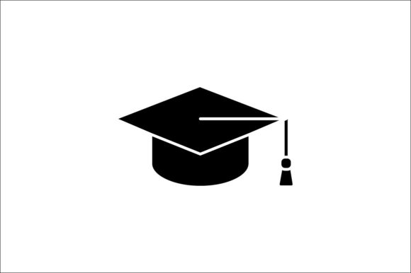 Print on Demand: Graduation Cap Graphic Icons By khld939