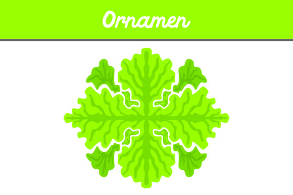 Print on Demand: Green Ornament Graphic Illustrations By Arief Sapta Adjie