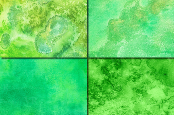 Green Watercolor Digital Papers / Textures /backgrounds Graphic By VR Digital Design Image 4