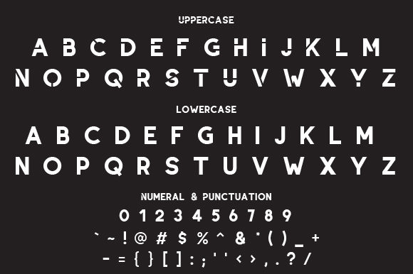 Gresix Font By da_only_aan Image 2