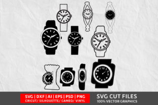 Hand Watch SVG Graphic By Design Palace