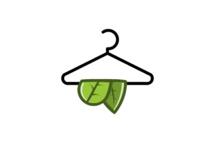 Download Free Hanger Cloth Logo Graphic By Yahyaanasatokillah Creative Fabrica for Cricut Explore, Silhouette and other cutting machines.