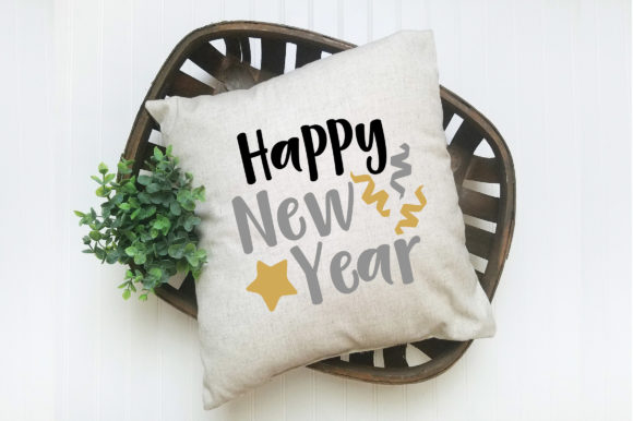 Download Free Happy New Year Svg Graphic By Oldmarketdesigns Creative Fabrica for Cricut Explore, Silhouette and other cutting machines.