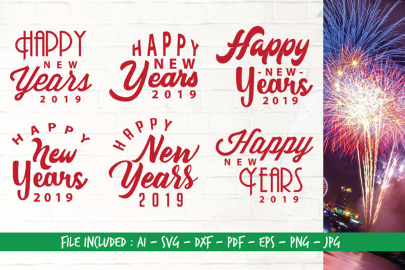 Download Free Happy New Years Svg Graphic By Home Crafter Design Co Creative for Cricut Explore, Silhouette and other cutting machines.