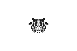 Download Free Head Cow Logo Design Graphic By Yahyaanasatokillah Creative for Cricut Explore, Silhouette and other cutting machines.