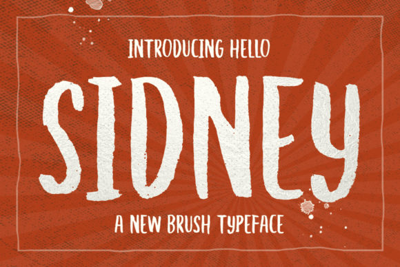 Print on Demand: Hello Sidney Display Font By Discipline