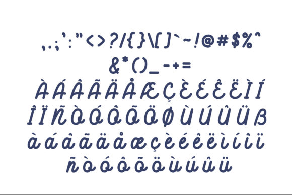 Hellodilo Font Preview