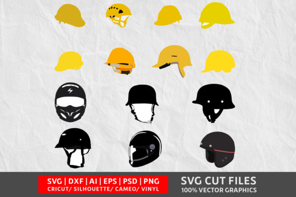 Download Free Helmet Graphic By Design Palace Creative Fabrica for Cricut Explore, Silhouette and other cutting machines.