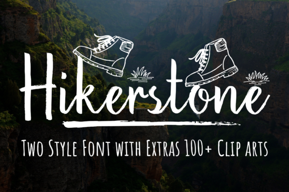 Print on Demand: Hikerstone Family Script & Handwritten Font By Sibelumpagi Studio