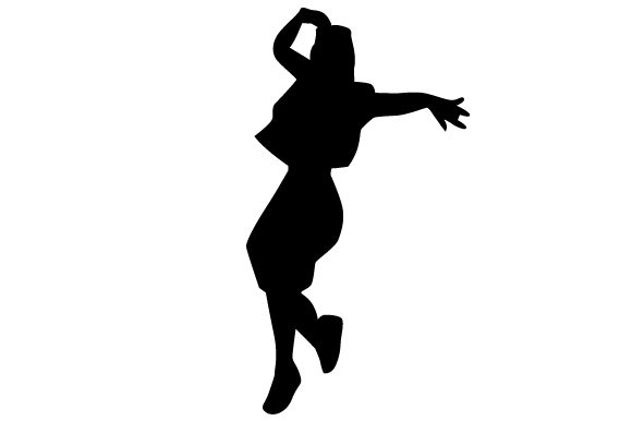 Hip Hop Dancer Silhouette Svg Cut File By Creative Fabrica Crafts Creative Fabrica