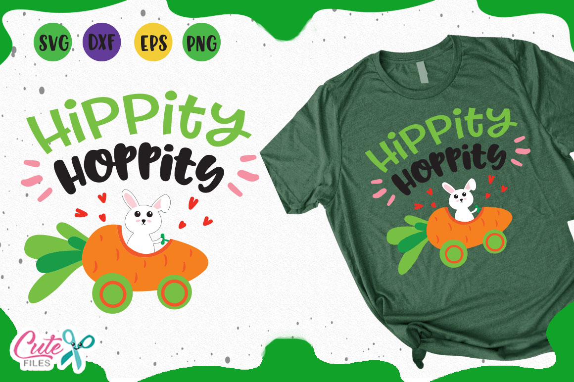 Download Free Hippity Hoppity Graphic By Cute Files Creative Fabrica for Cricut Explore, Silhouette and other cutting machines.