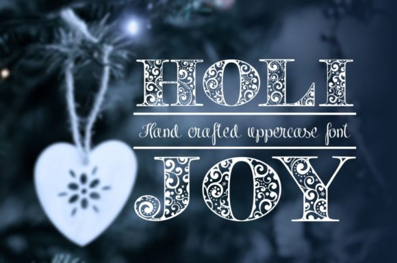 Print on Demand: Holijoy Decorative Font By Eva Barabasne Olasz