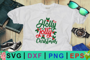 Holly Jolly Christmas Image Graphic By Design Palace