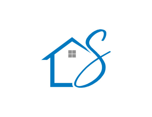 Download Free Home Initial Letter S Logo Graphic By Meisuseno Creative Fabrica for Cricut Explore, Silhouette and other cutting machines.