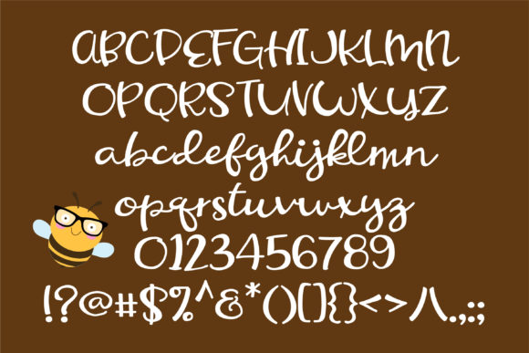 Print on Demand: Honeycomb Script & Handwritten Font By Illustration Ink - Image 2