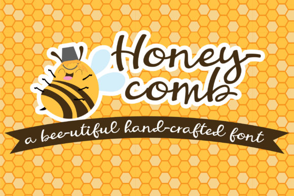 Print on Demand: Honeycomb Script & Handwritten Font By Illustration Ink - Image 1