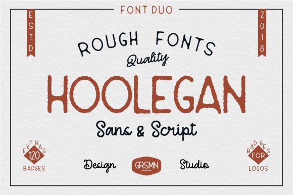 Print on Demand: Hoolegan Duo Sans Serif Font By Garisman Studio - Image 1