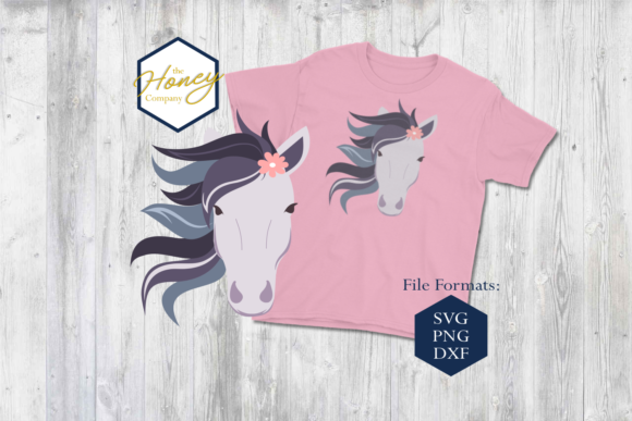 Horse SVG Graphic Crafts By The Honey Company