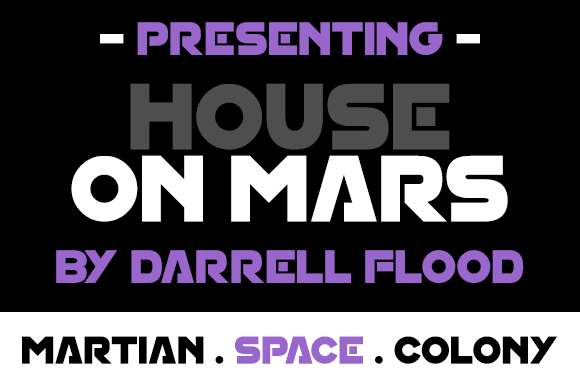 Print on Demand: House on Mars Display Font By Dadiomouse