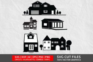 House SVG Graphic By Design Palace