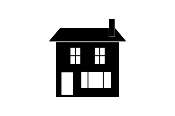 Download Free House Home Icon Vector Graphic By Hoeda80 Creative Fabrica for Cricut Explore, Silhouette and other cutting machines.