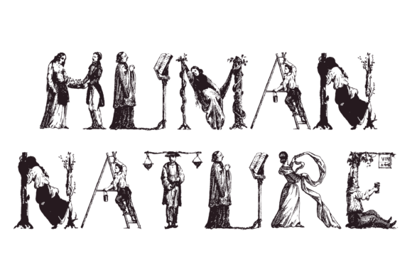 Print on Demand: Human Nature Display Font By Intellecta Design