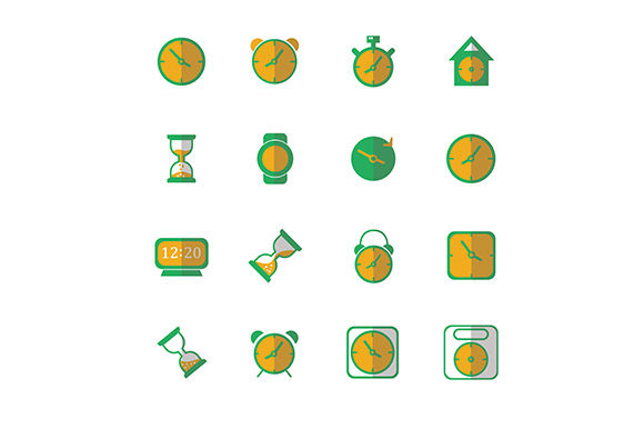 Icon Clock Vector Graphic Icons By rohmar - Image 3