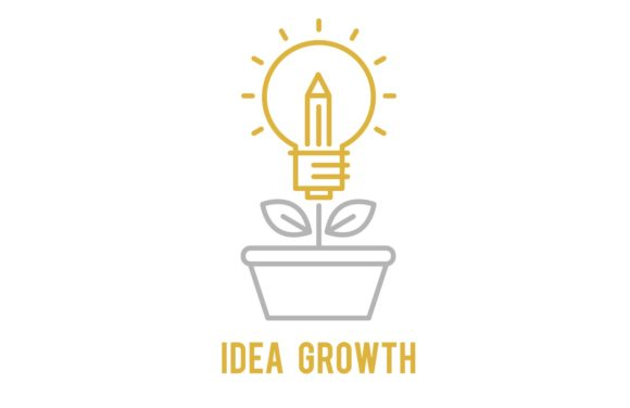 Download Free Idea Growth Icon Graphic By Back1design1 Creative Fabrica for Cricut Explore, Silhouette and other cutting machines.