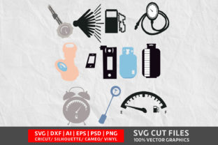 Indicator Gas Tank SVG Graphic By Design Palace