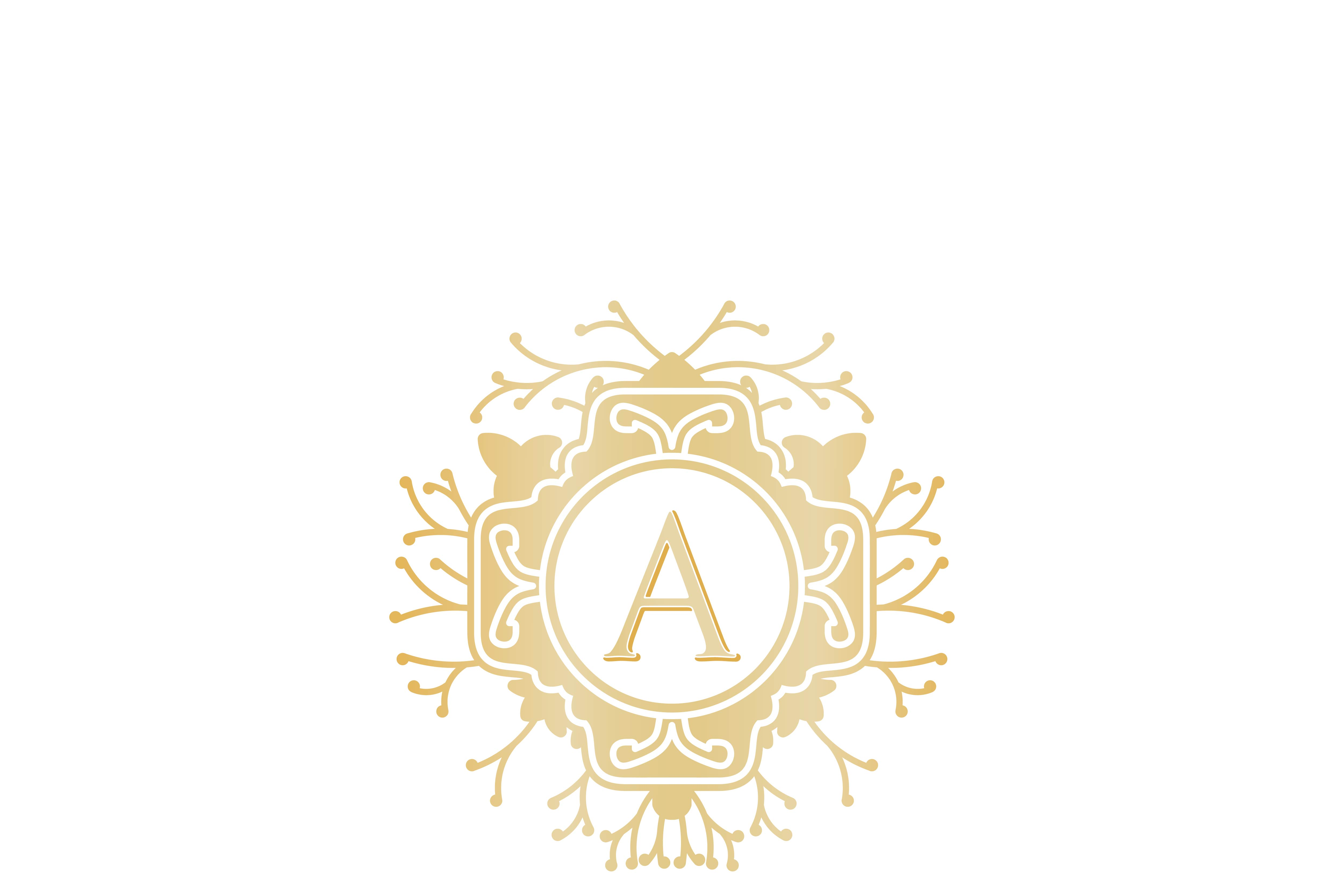 Download Free Initial A Wedding Boutique Logo Graphic By Yahyaanasatokillah for Cricut Explore, Silhouette and other cutting machines.