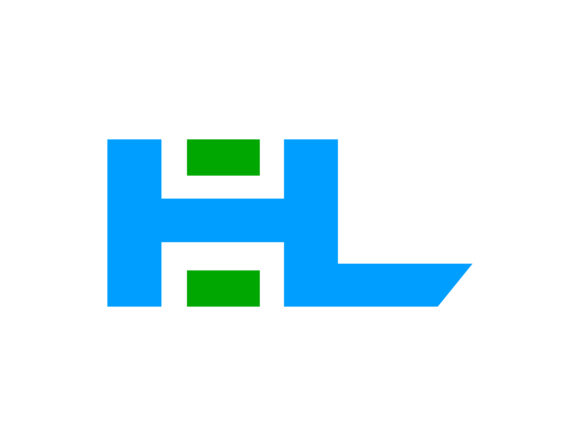 Download Free Initial Letter Hl Design Logo Graphic By Meisuseno Creative for Cricut Explore, Silhouette and other cutting machines.