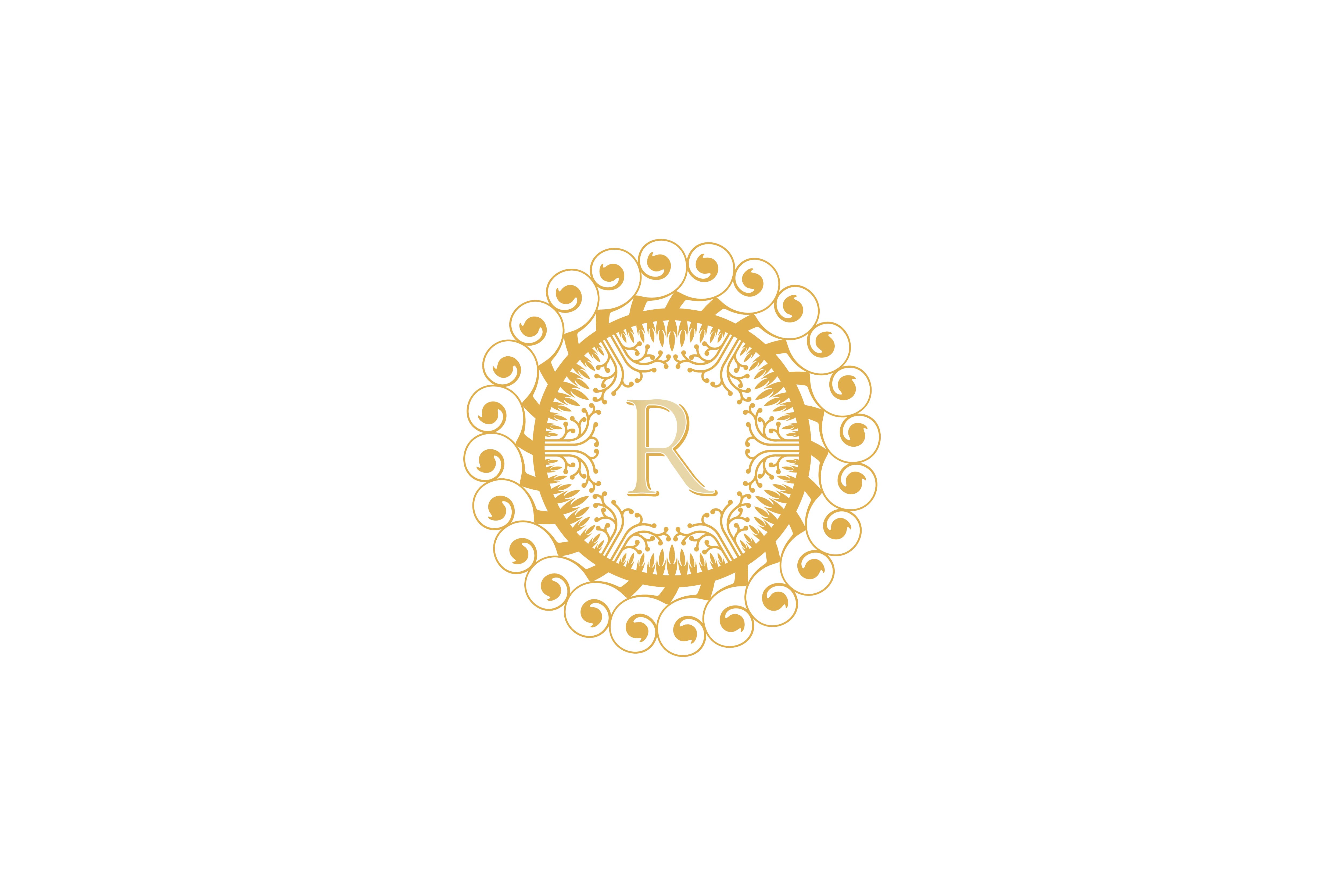 Initial R Restaurant Royalty Boutique Cafe Hotel Heraldic