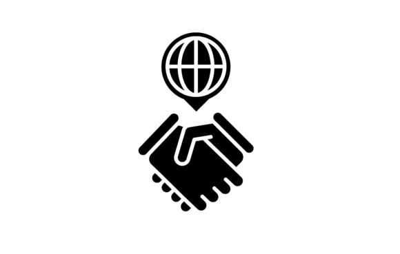 Download Free International Agreement Icon Graphic By Back1design1 Creative SVG Cut Files
