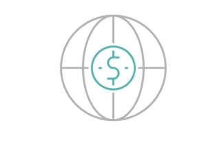 Download Free International Investment Icon Graphic By Back1design1 Creative for Cricut Explore, Silhouette and other cutting machines.