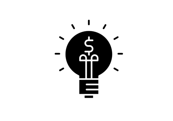 Investing Idea Icon Graphic By Back1design1 Creative Fabrica