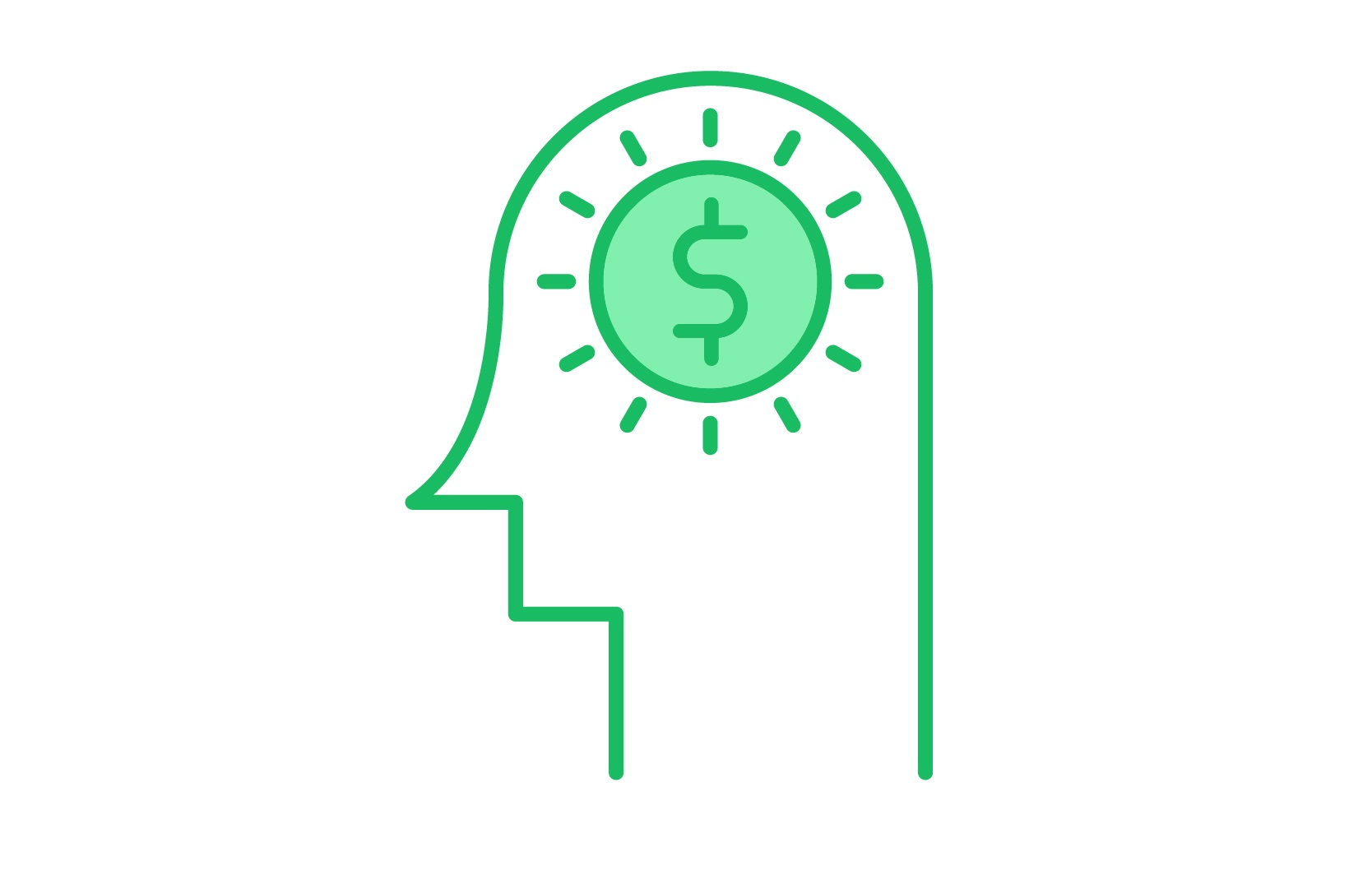 Download Free Investment Idea Icon Graphic By Back1design1 Creative Fabrica for Cricut Explore, Silhouette and other cutting machines.