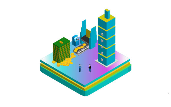 Download Free Isometric Investor Partner With Business Man Illustration Graphic By Mragilprasetyo123 Creative Fabrica for Cricut Explore, Silhouette and other cutting machines.