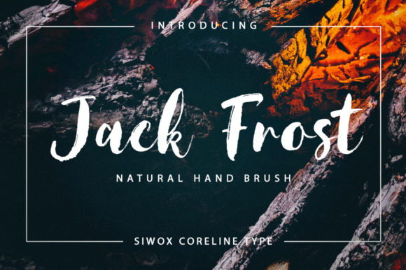 Print on Demand: Jack Frost Script & Handwritten Font By SiwoxS