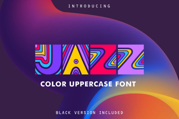 Print on Demand: Jazz Color Fonts Font By struvictory - Image 1