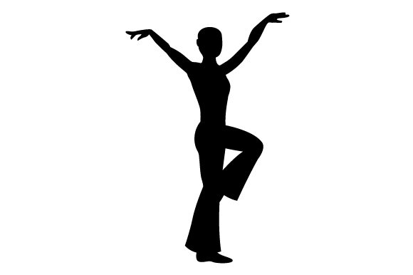 Download Free Jazz Dancer Silhouette Svg Cut File By Creative Fabrica Crafts for Cricut Explore, Silhouette and other cutting machines.