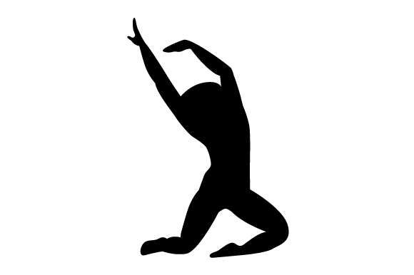 Jazz dancer silhouette SVG Cut file by Creative Fabrica ...