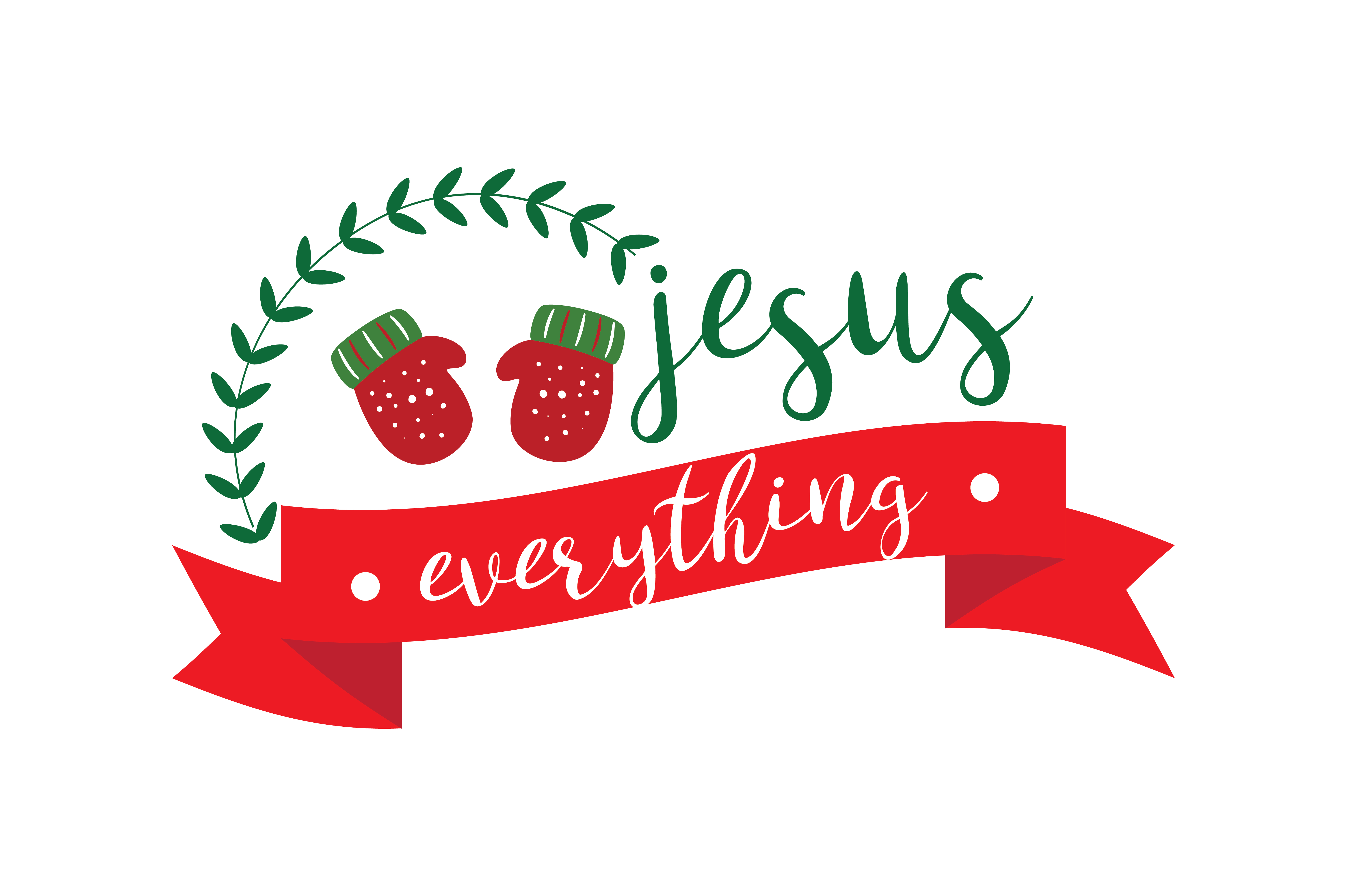 Download Free Jesus Everything Graphic By Thelucky Creative Fabrica for Cricut Explore, Silhouette and other cutting machines.