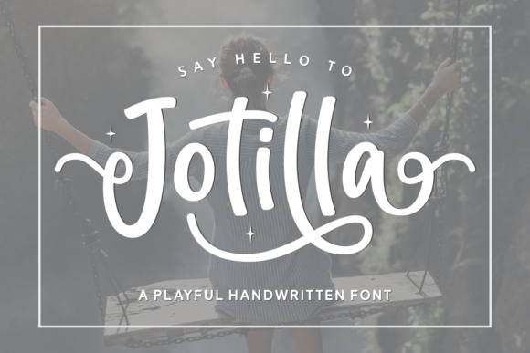 Print on Demand: Jotilla Script & Handwritten Font By Adyfo (7NTypes)