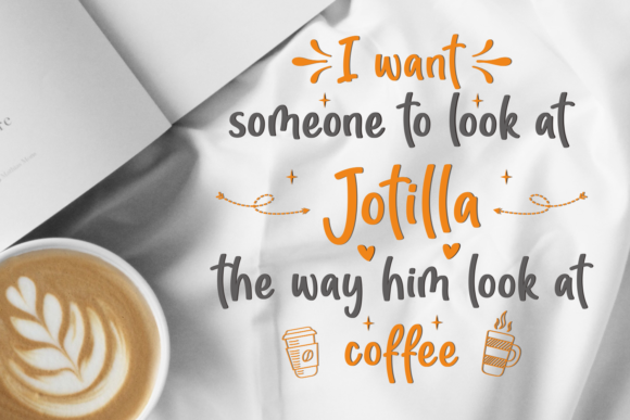 Download Free Jotilla Font By Adyfo 7ntypes Creative Fabrica for Cricut Explore, Silhouette and other cutting machines.
