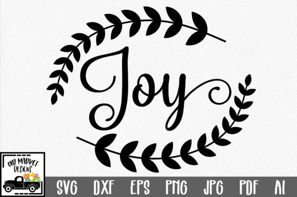 Print on Demand: Joy  Graphic Crafts By oldmarketdesigns
