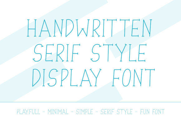 Print on Demand: Junior Serif Font By Dasagani - Image 2