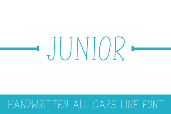 Print on Demand: Junior Serif Font By Dasagani - Image 1